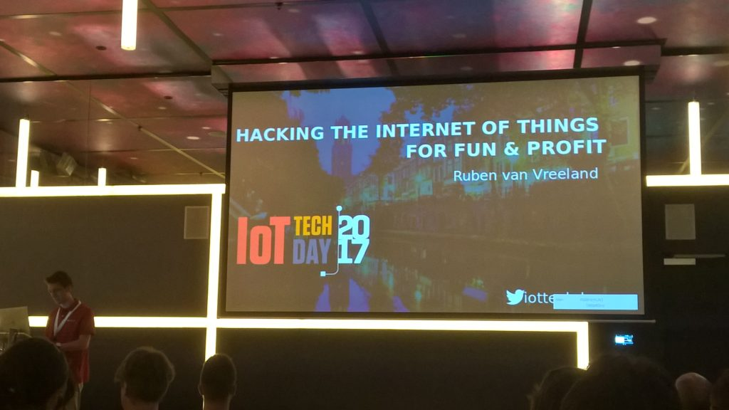The Software Testing Company - event - IoT Tech Day - hacking