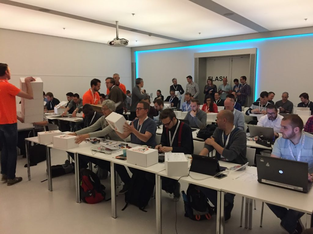 The Software Testing Company - event - IoT Tech Day - interactieve hackaton sessie