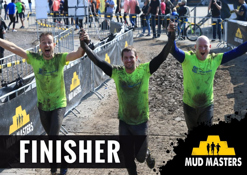 The Software Testing Company - Mud Masters Biddinghuizen 2017 - finish