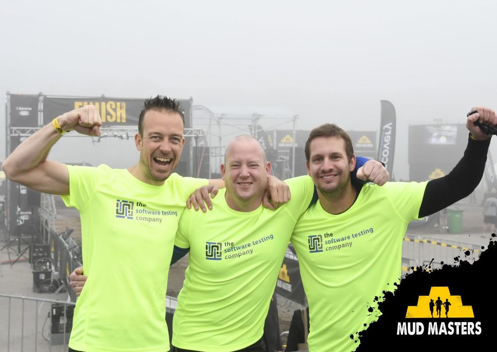 The Software Testing Company - Mud Masters Biddinghuizen 2017 - start