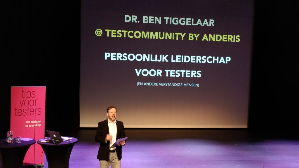 The Software Testing Company - event - Masterclass Ben Tiggelaar (1)