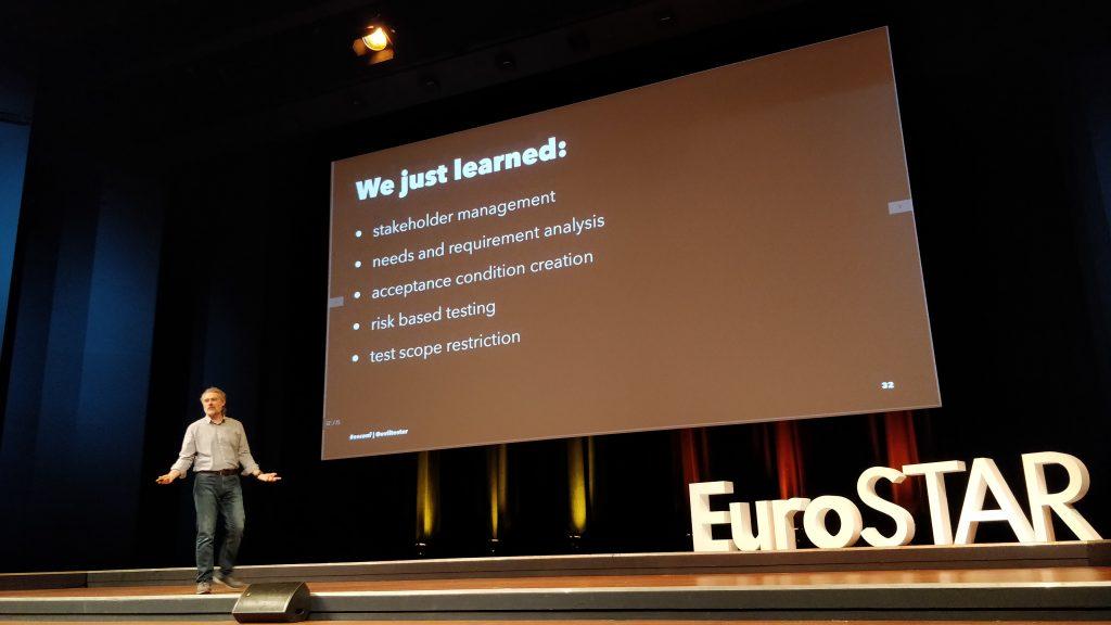 The Software Testing Company - event - EuroSTAR2018 - alan richardson