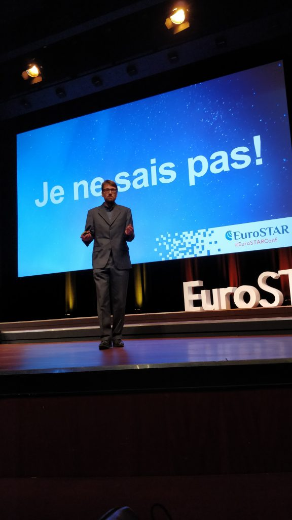 The Software Testing Company - event - EuroSTAR2018 - key note